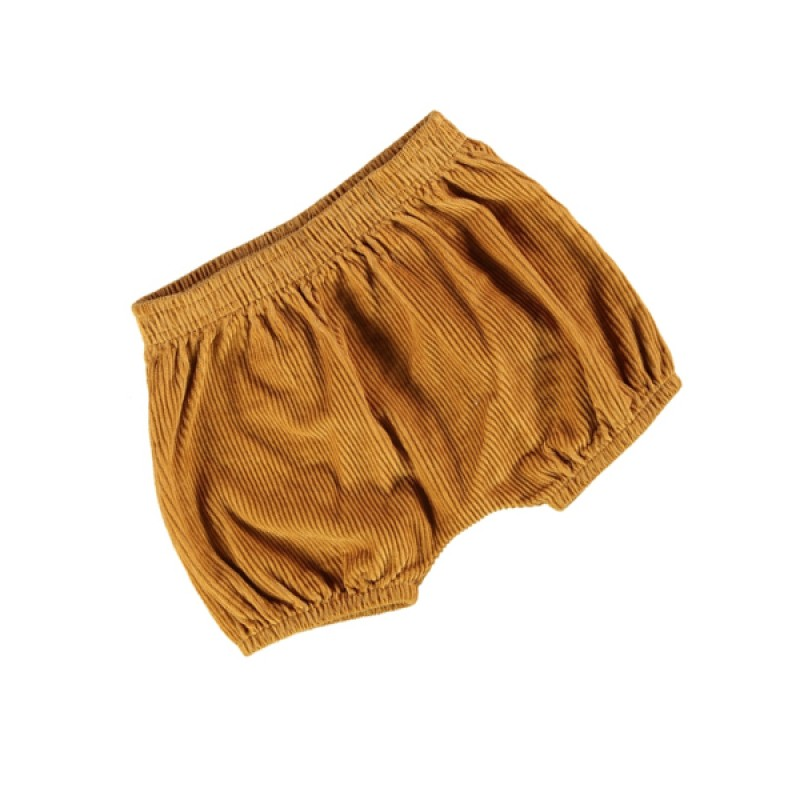Baby Cord Knickerbockers Dark Yellow